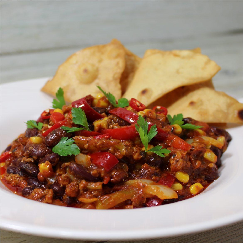 Chili con carne kacsából