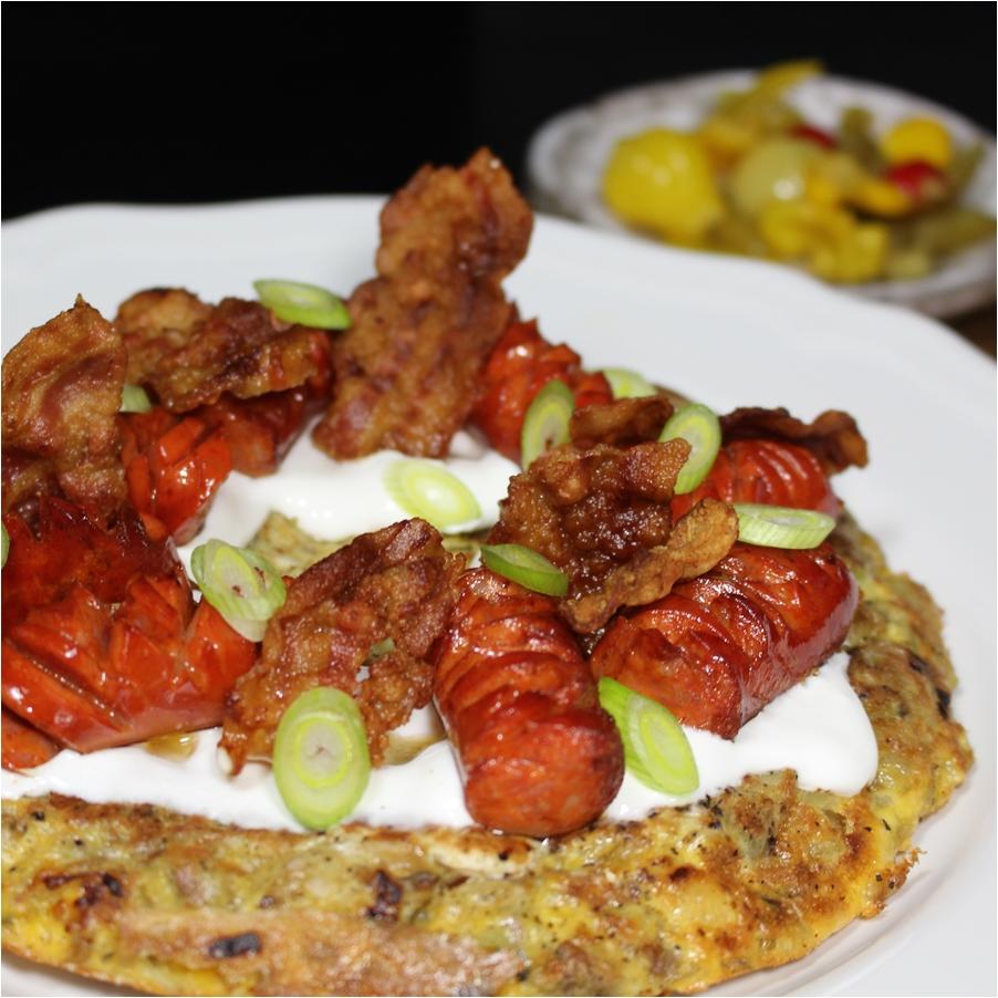 Krumplis omlett, avagy spanyol omlett
