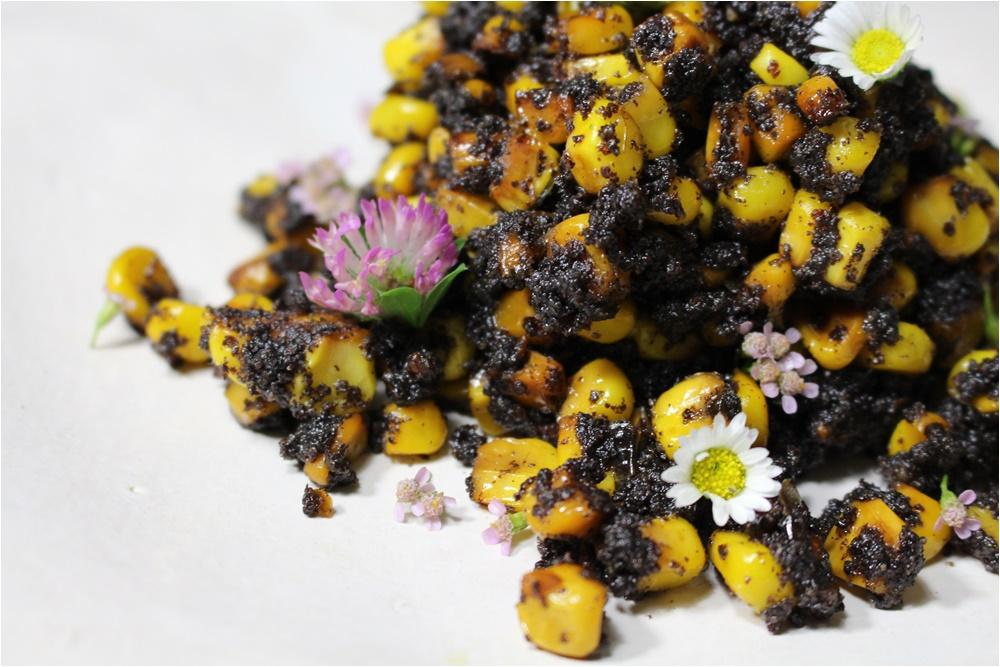 Mákos kukorica mézzel